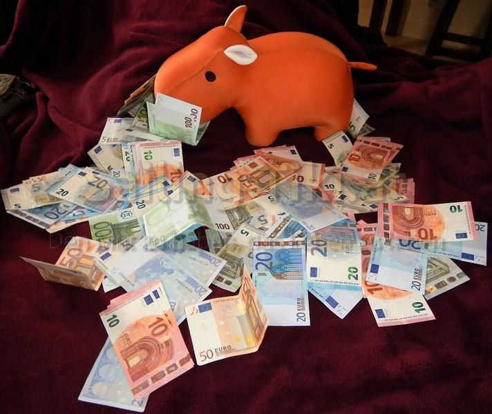 Hippo bedet im Geld Kosten, Kostenaufstellung