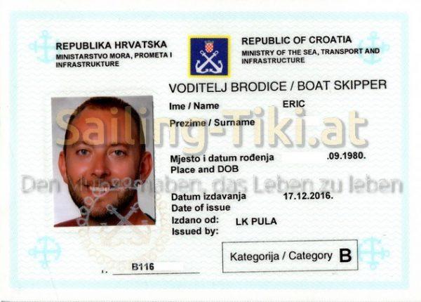 Kroatisches Kuestenpatent