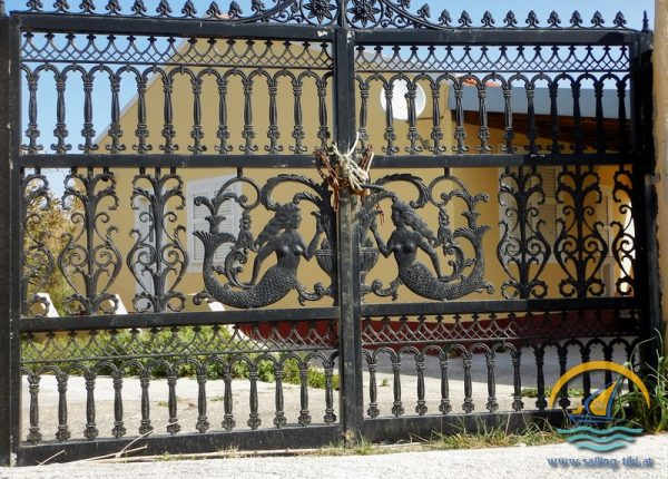 Gate in Erikoussa